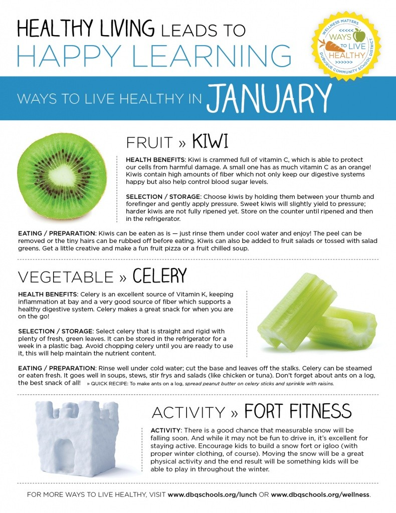 Ways to Live Healthy in January