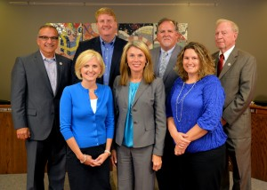 Board Members (left to right): Mike Donohue, Tami Ryan, Tom Barton, Lisa Wittman, Craig Beytien, Terra Siegert, Jim Prochaska