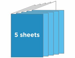 TEMPLATE program half fold 20panel