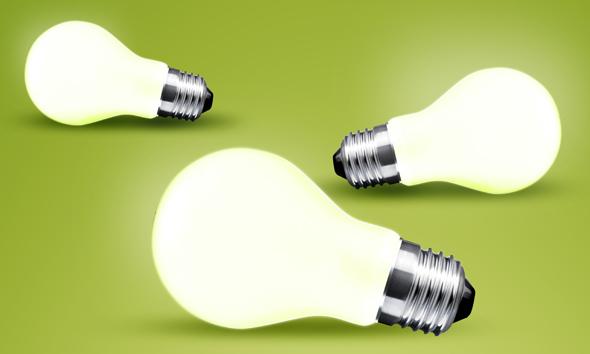 HEADER light bulb energy