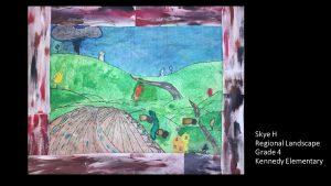 Artwork by Skye, Grade 4