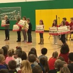Kennedy Students Participate in the Live Like a Saint Program
