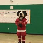 Fighting Saints Mascot Bernie
