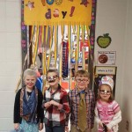 100th Day students dressed up as 100 years old