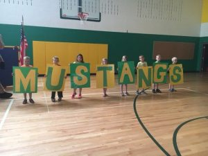 Mustangs Kids assembly