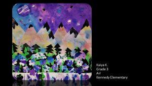 Artwork by Kaiya, Grade 3