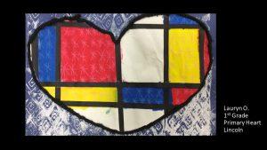 Artwork by Lauryn, Grade 1