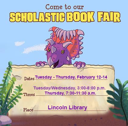 Scholastic Book fair dates