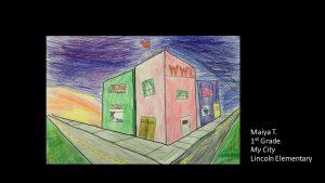 Artwork by Maiya, Grade 1