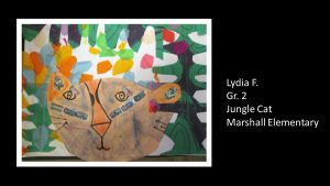 Artwork by Lydia, Grade 2