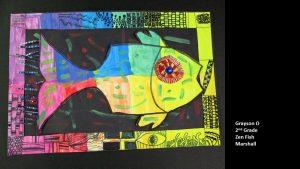 Artwork by Grayson, Grade 2