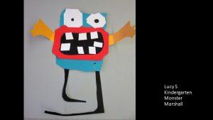Artwork by Lucy, Kindergarten