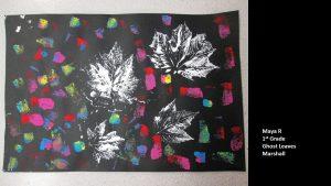 Artwork by Maya, Grade 1