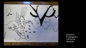 Artwork by Shaylee, Kindergarten