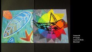 Artwork by Tristen, Grade 5