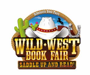 200018 wild west book fair clip art logo