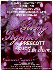 2017 soup luncheon flyer