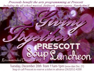 Soup Luncheon Invitation