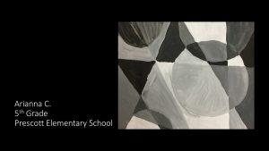 Artwork by Arianna, Grade 5