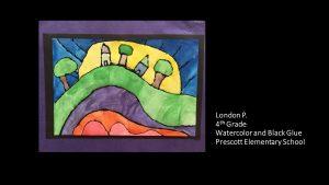 Artwork by London, Grade 4