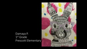 Artwork by Damaya, Grade 1