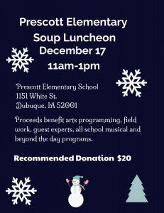 2019 Soup Luncheon Invite image