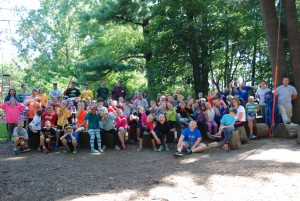 Fifth Graders at Four Mounds