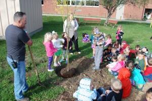 Kindergarten Tree Planting