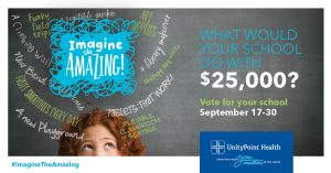 UnityPoint Health Imagine the Amazing Back to School Facebook Image 1