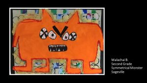 Artwork by Malachai, Grade 2