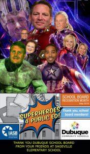 SchoolBoardSuperheroes SagevilleThanks