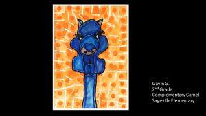 Artwork by Gavin, Grade 2