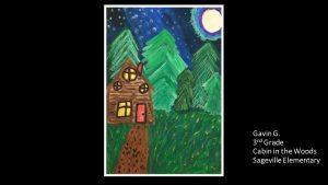 Artwork by Gavin, Grade 3
