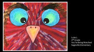 Artwork by Luke, Grade 4