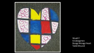 Artwork by Wyatt, Kindergarten