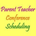 Parents conference button
