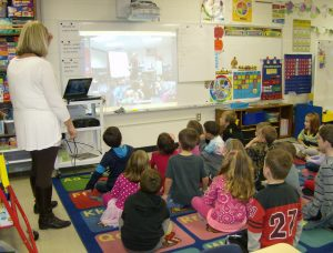 Kindergarten Skpes with Calfornia Students