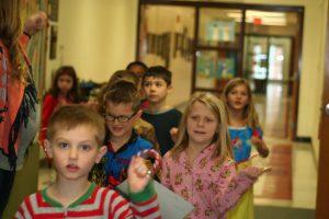 Students Celebrate Polar Express Day
