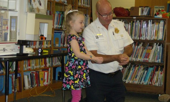 News fire safety visit