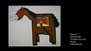 Artwork by Owen, Grade 3