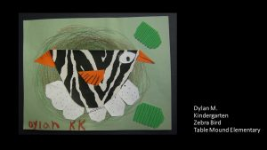 Artwork by Dylan, Kindergarten