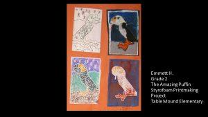 Artwork by Emmett, Grade 2