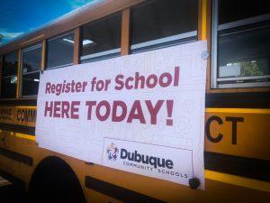News mobile registration bus
