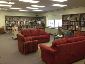 Couch and chair seating area