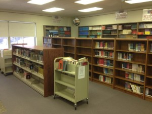 library books - northwest corner