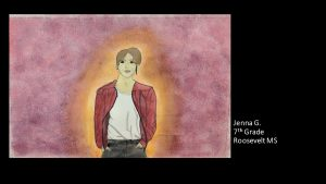 Artwork by Jenna, Grade 7
