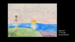 Artwork by Rianna, Grade 7