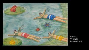 Artwork by Hanna, Grade 7