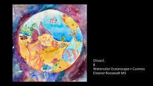 Artwork by Olivia, Grade 8