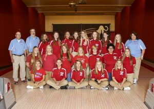 SHS Girls Bowling Team 2017 18